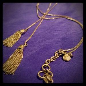 J. Crew tassel necklace